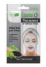 Düfte, Parfümerie und Kosmetik Gesichtsmaske gegen Mitesser mit Gelatine, Amla-Extrakt und Holzkohle - Naturalist