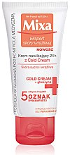 Düfte, Parfümerie und Kosmetik Feuchtigkeitsspendende Gesichtscreme für trockene und empfindliche Haut - Mixa Sensitive Skin Expert 24H Moisturizer With Cold Cream