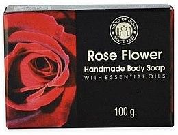 Düfte, Parfümerie und Kosmetik Handgemachte Körperseife Rose - Song of India Soap Rose