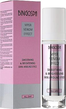 Augenkonturcreme - BingoSpa Viper Venom Effect Smoothing & Brightening Skin Around Eyes Eye Cream — Bild N3