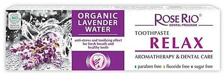 Natürliche Zahnpasta mit organischem Lavendelwasser und Pfefferminzöl - Rose Rio Relax — Bild N1