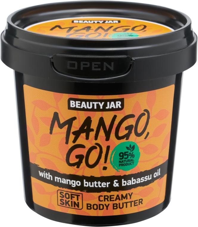 "Körpercreme ""Mango, Go!"" mit Mangobutter und Babassuöl - Beauty Jar Shimmering Creamy Body Butter — Bild N1"