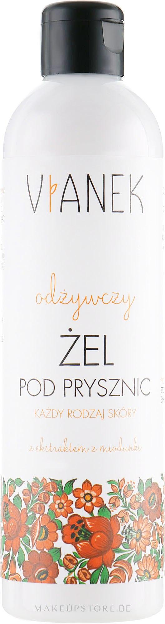 Pflegendes Duschgel mit Honigtauextrakt - Vianek Shower Gel — Bild 300 ml