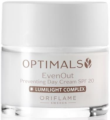 Tagescreme gegen Pigmentierung - Oriflame Optimals Even Out Day Cream SPF 20 — Bild N1