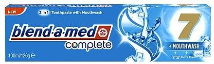 2in1 Zahnpasta und Mundwasser - Blend-a-med Complete 7 Toothpaste — Bild N1