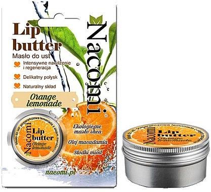 Lipeenbalsam Citrus - Nacomi Lip Butter — Bild N1