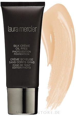 Cremige ölfreie Foundation - Laura Mercier Silk Crème Oil Free Photo Edition Foundation — Bild Cream Ivory