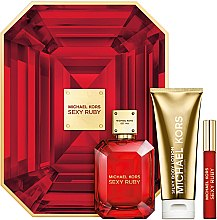 Michael Kors Sexy Ruby - Duftset (Eau de Parfum 100ml + Körperlotion 100ml + Mini 10ml) — Bild N1