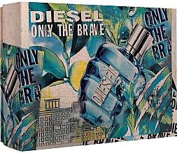 Düfte, Parfümerie und Kosmetik Diesel Only The Brave - Duftset (Eau de Toilette 50ml + Duschgel 100ml)