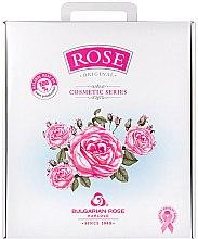 Düfte, Parfümerie und Kosmetik Geschenkset für Damen mit Rosenextrakt - Bulgarian Rose (Tagescreme 50ml + Handcreme 50ml + Mizellenwasser 150ml + Duschgelgel 150ml + Seife 100g)