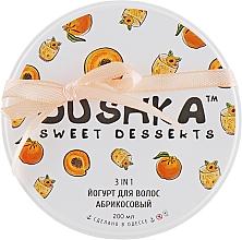 Düfte, Parfümerie und Kosmetik 3in1 Haarjoghurt mit Aprikosenduft - Dushka