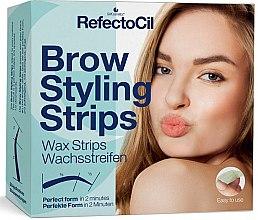 Düfte, Parfümerie und Kosmetik Augenbrauen Kaltwachssteifen - RefectoCil Brow Styling Wax Strips