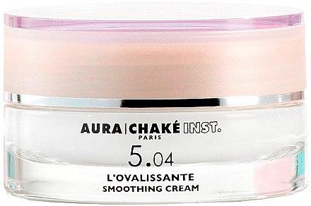 Glättende Gesichtscreme mit Aprikosenkernöl für reife Haut - Aura Chake L'Ovalissante Smoothing Cream — Bild N1
