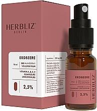 Düfte, Parfümerie und Kosmetik Mundspray Erdbeere 2,5% - Herbliz CBD Oil Mouth Spray 2,5%
