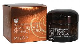 Düfte, Parfümerie und Kosmetik Pflegende und regenerierende Gesichtscreme mit Schneckenschleimextrakt - Mizon Snail Repair Perfect Cream