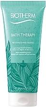 Düfte, Parfümerie und Kosmetik Revitalisierendes und glättendes Körperpeeling mit Meersalz und Meeresalgen - Biotherm Bath Therapy Revitalizing Blend Body Scrub