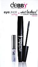 Düfte, Parfümerie und Kosmetik Make-up Set (Mascara 10ml + Eyeliner 4.2g) - Debby