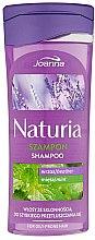 Düfte, Parfümerie und Kosmetik Shampoo für schnell fettendes Haar mit Minze und Heidekraut - Joanna Naturia Shampoo With Mint And Heather