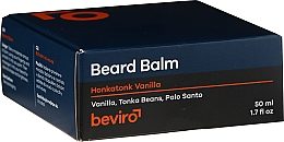 Bartbalsam mit Vanille, Palo Santo und  Tonkabohnen - Be-Viro Beard Balm Vanilla, Palo Santo, Tonka Boby — Bild N2
