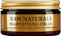 Düfte, Parfümerie und Kosmetik Definierende Bart- und Schnurrbartcreme Starker Halt - Recipe For Men RAW Naturals Beard Styling Cream