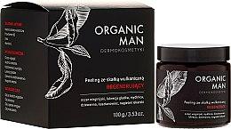 Düfte, Parfümerie und Kosmetik Regenerierendes Gesichtspeeling mit Vulkangestein für Männer - Organic Life Dermocosmetics Man