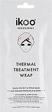 Düfte, Parfümerie und Kosmetik Reparierende Farbschutz-Haartuchmaske mit Lavendelöl und Basilikum - Ikoo Infusions Thermal Treatment Wrap