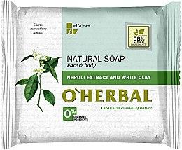 Düfte, Parfümerie und Kosmetik Naturseife mit Neroli Extrakt und weißer Tonerde - O'Herbal Natural Soap