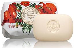 Düfte, Parfümerie und Kosmetik Naturseife Poppy - Saponificio Artigianale Fiorentino Poppy Soap Estate Fiorentina Collection