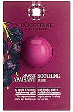 Düfte, Parfümerie und Kosmetik Beruhigende Gesichtsmaske mit schwarzer Johannisbeere - L'Occitane Soothing Mask (Probe)