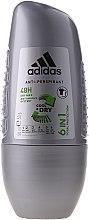 Düfte, Parfümerie und Kosmetik Deo Roll-on Antitranspirant - Adidas Action3 Cool&Dry/M 6in1