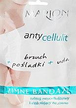 Düfte, Parfümerie und Kosmetik Anti-Cellulite Kühlverbände für den Körper - Marion Anti-Cellulite Cool Bandages