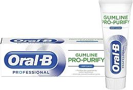 Düfte, Parfümerie und Kosmetik Zahnfleisch reinigende Zahnpasta mit Pfefferminzgeschmack - Oral-B Professional Gumline Pro-Purify Deep Clean