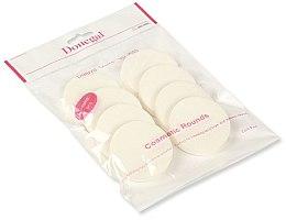 Düfte, Parfümerie und Kosmetik Make-Up Schwämmchen 4302 weiß 8 St. - Donegal Sponge Make-Up