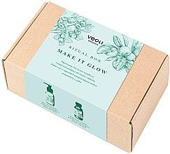 Düfte, Parfümerie und Kosmetik Gesichtspflegeset - Veoli Botanica Ritual Box Make It Glow (Gesichtsmaske + Gesichtspeeling)