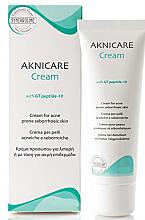 Düfte, Parfümerie und Kosmetik Gesichtscreme bei Aknehaut mit hoher Talgproduktion - Synchroline Aknicare Cream