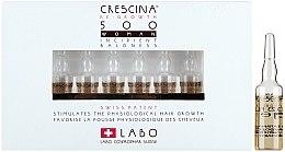 Düfte, Parfümerie und Kosmetik Wiederherstellendes Lotion-Konzentrat zum Haarwachstum für Frauen 500 - Labo Crescina HFSC Re-Growth 500