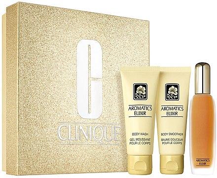 Clinique Aromatics Elixir Essentials Set - Duftset (Eau de Parfum/45ml+Duschgel/75ml+Körperlotion75ml) — Bild N1