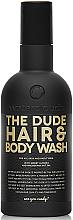 Düfte, Parfümerie und Kosmetik 2in1 Shampoo und Duschgel für Männer mit süßer Mandel und Macadamianussöl - Waterclouds The Dude Hair And Body Wash