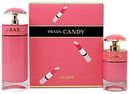 Düfte, Parfümerie und Kosmetik Prada Candy Gloss - Duftset (Eau de Toilette 80ml + Eau de Toilette 30ml)