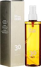 Düfte, Parfümerie und Kosmetik Trockenes Sonnenschutzöl-Spray für den Körper SPF 30 - Le Tout Dry Oil Protect SPF30