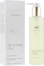 Düfte, Parfümerie und Kosmetik 2in1 Gel-Tonikum für das Gesicht für jede Haut - Babor Cleansing Gel & Tonic 2 in 1