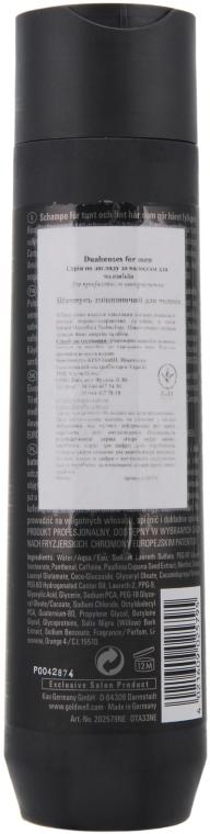 Haarfülle Shampoo für feines und dünner werdendes Haar - Goldwell DualSenses For Men Thickening Recharge Complex Shampoo — Bild N2