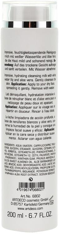 Intensive feuchtigkeitsspendende Gesichtsreinigungsmilch mit weißer Wasserlilie und Aloe Vera - Deep and Gentle Cleansing Milk — Bild N2