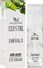 Düfte, Parfümerie und Kosmetik Anti-Aging Augencreme - Hristina Cosmetics SM Crystal Anti-Aging Eye Cream
