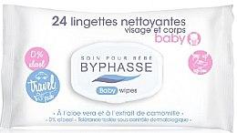 Düfte, Parfümerie und Kosmetik Sanfte und beruhigende Baby Feuchttücher - Byphasse Travel Baby Wipes