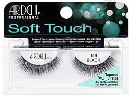 Düfte, Parfümerie und Kosmetik Künstliche Wimpern - Ardell Soft Touch Eye Lashes Black 156
