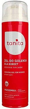 """Rasiergel mit Erdbeer Extrakt für Frauen - Tanita Body Care Shave Gel For Woman """"Strawberry"""" — Bild N1"""