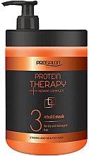 Düfte, Parfümerie und Kosmetik Haarmaske für trockenes und strapaziertes Haar mit Keratin - Prosalon Protein Therapy + Keratin Complex Rebuild Mask
