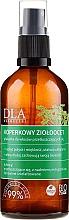 Düfte, Parfümerie und Kosmetik Haarspülung mit Apfelessig und Dill - DLA