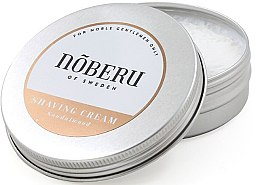 Düfte, Parfümerie und Kosmetik Rasiercreme mit Sandelholz - Noberu Of Sweden Sandalwood Shaving Cream